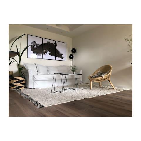 Apartamento luminoso con estilo mediterraneo