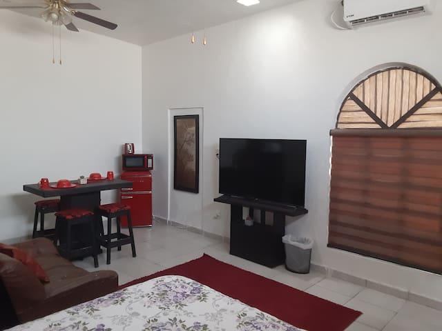 Apartamento tipo estudio,con excelente ubicación.