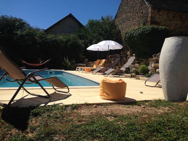 Périgord Noir Lascaux IV Maison 9 pers pisc privée - Les Farges
