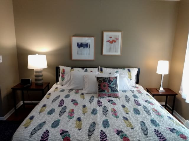 Dog friendly with room to run! Westlake room