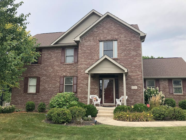 Beautiful home close to DePauw University