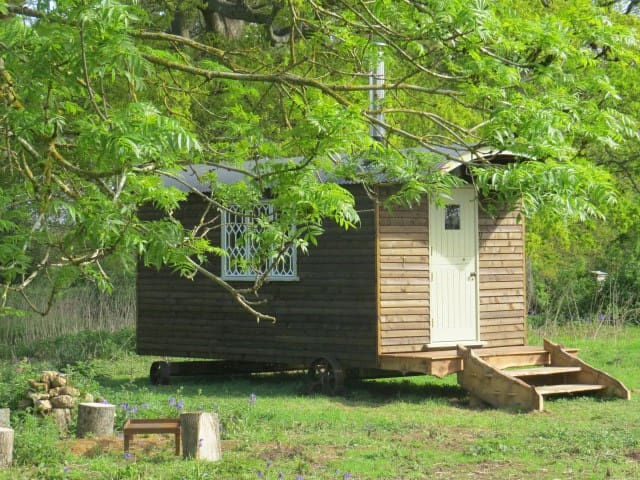 Unique Luxury Shepherd's Hut - Bines Green - Chata