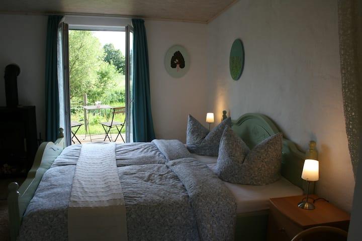 idyllisches Apartment Reiten Kunst A5