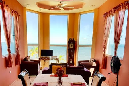 See Belize SEA VIEW PENTHOUSE w/ POOL & ROOF DECK
