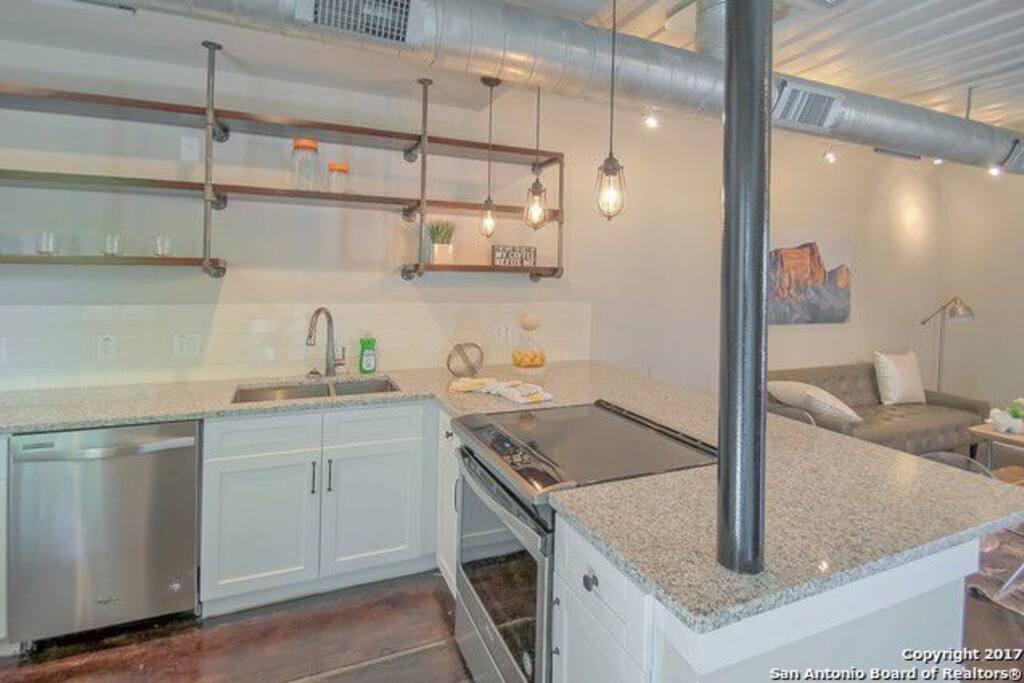 open chefs kitchen