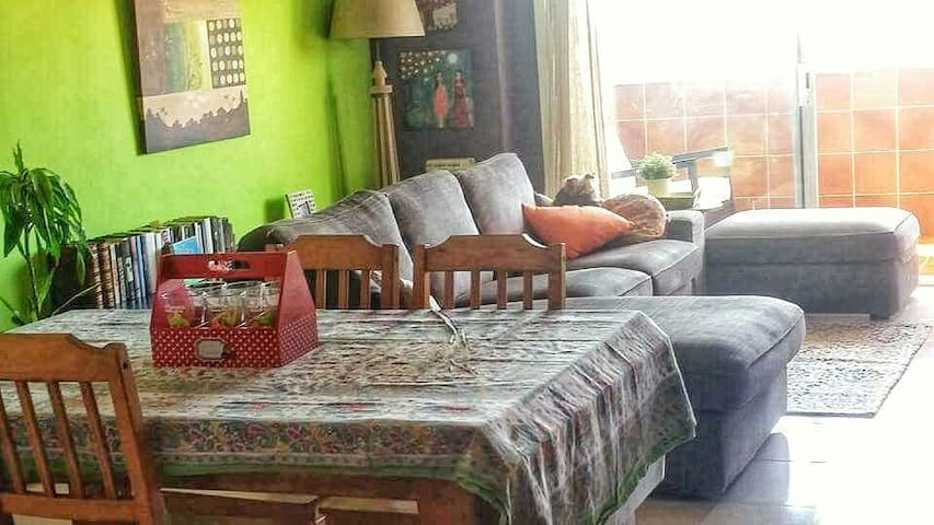 Room with 3 beds 3 people. - Barcelona - Appartement