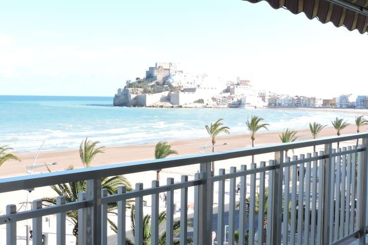 Fantástico apartamento  frente al mar