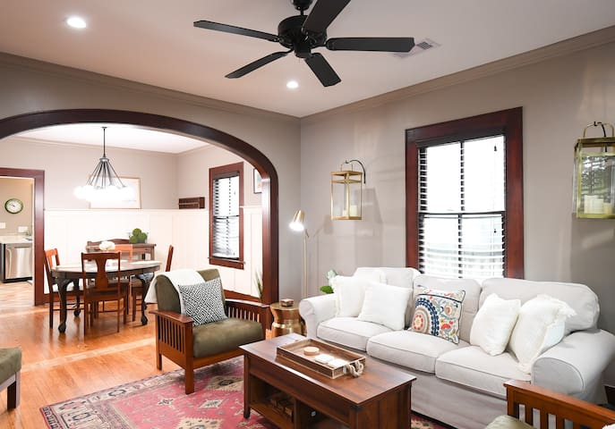 New Listing! Beautiful craftsman home, featured on HGTV Big Texas Fix! | Copper Penny House