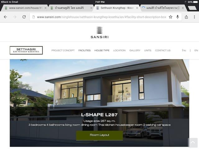 New 3 Bedroom house in Kreetha - Bangkok - House