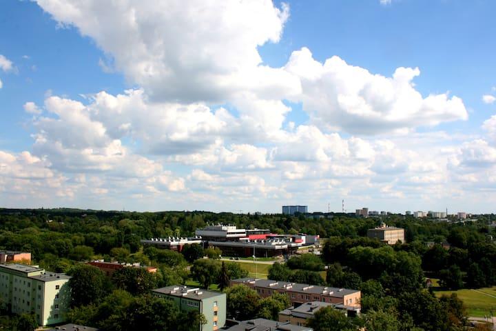 Kawalerka 11 piętro - Łódź - Flat