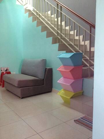Fully furnished room with bathroom. - Sungai Buloh - Casa