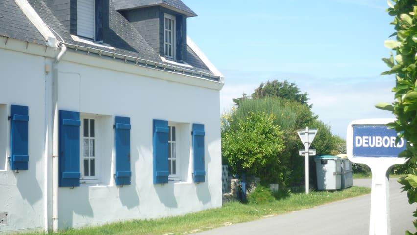 Maison pour 4 personnes - Sauzon - Hus