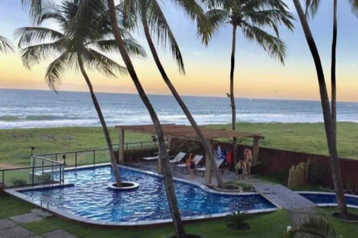 Paraíso a beira mar -  Apartamento Mobiliado