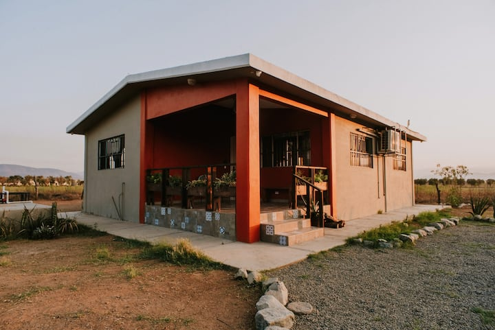 Cottage in Valle de Guadalupe / Perfect Location!