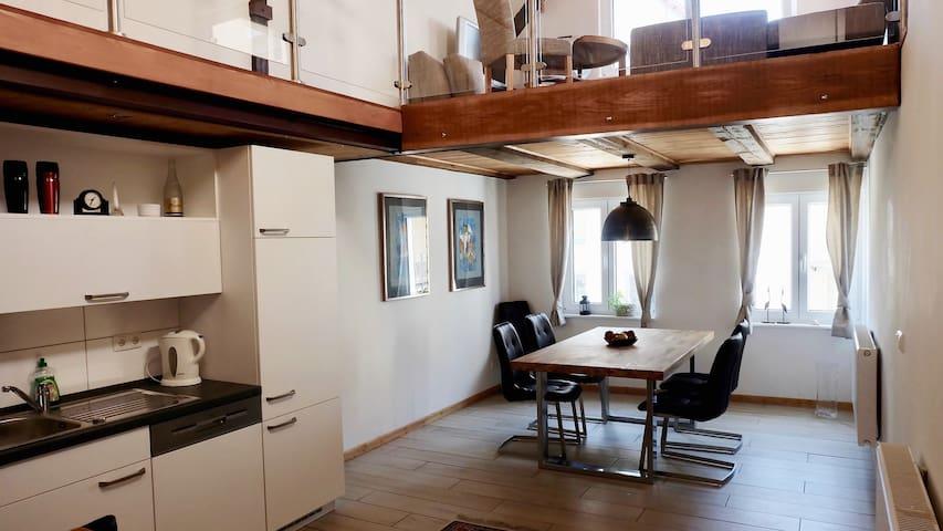 Guesthouse am Hafen 2 Ebenen mit Galerie (55 qm)