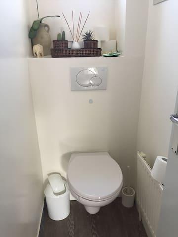 WC près de la chambre