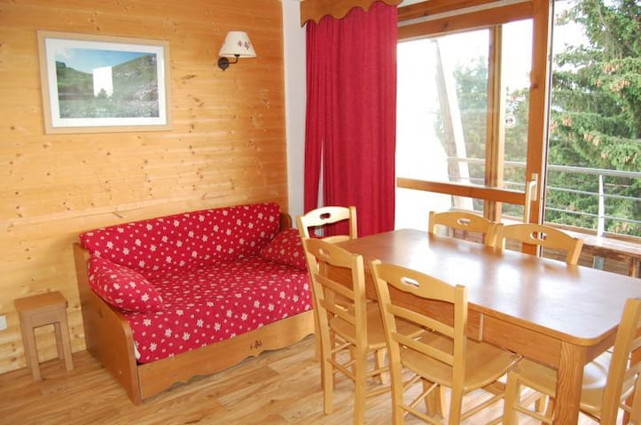 Appartement 6 personnes proche pistes vue montagne - Chamrousse - อพาร์ทเมนท์