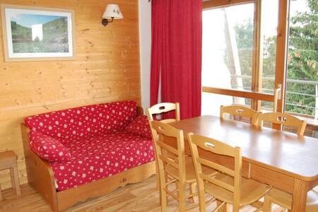 Appartement 6 personnes proche pistes vue montagne - Chamrousse