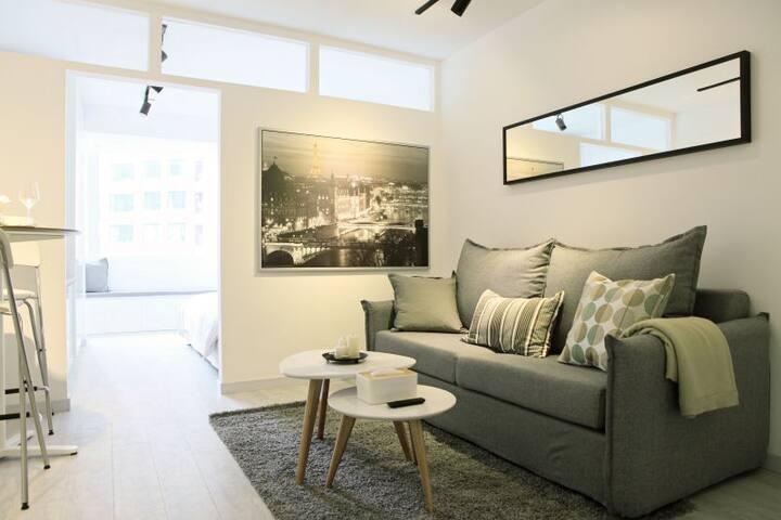 #01-GardenView Apartment in FFC PrimeLocation
