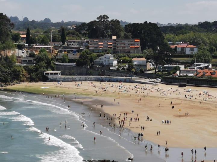 Dúplex sobre la playa en entorno natural magnífico