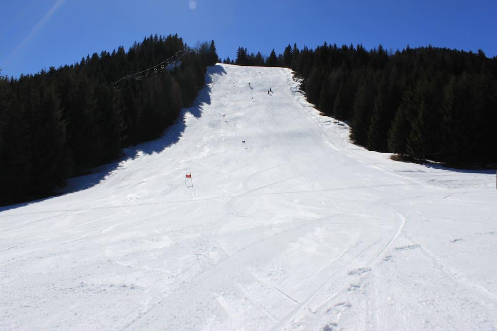 Piste della Ski Area S.Colombano.