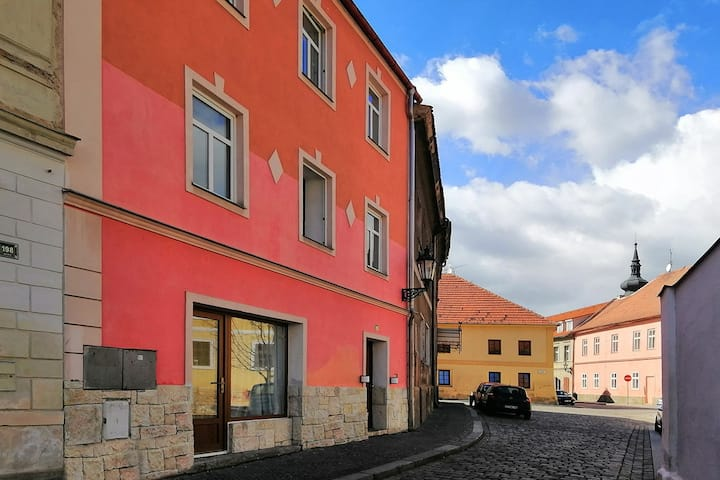 Accommodation in the center of Zatec