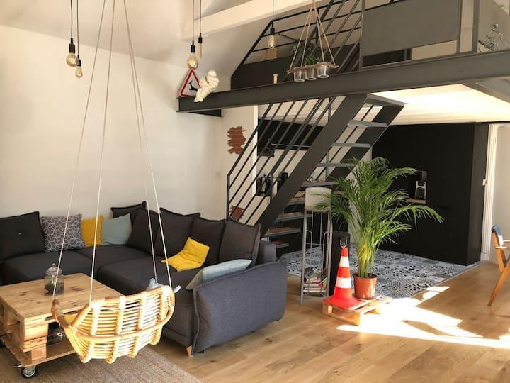 Appartement type loft en plein coeur de Rouen