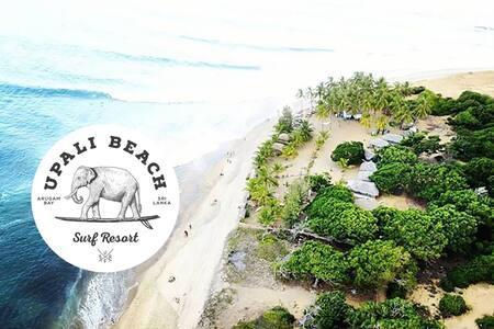 Family Glam Cabana - Upali Beach Surf Resort