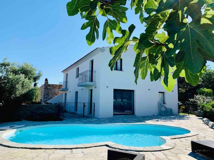Villa 8/10 personnes avec piscine privée