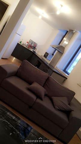 Bel appartement séjour  lumineux(chambre privée)