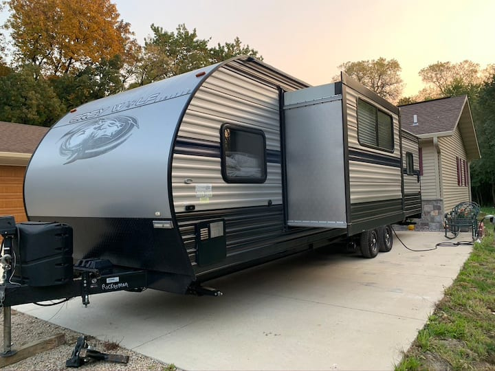Great camper and location, easy access to Madison