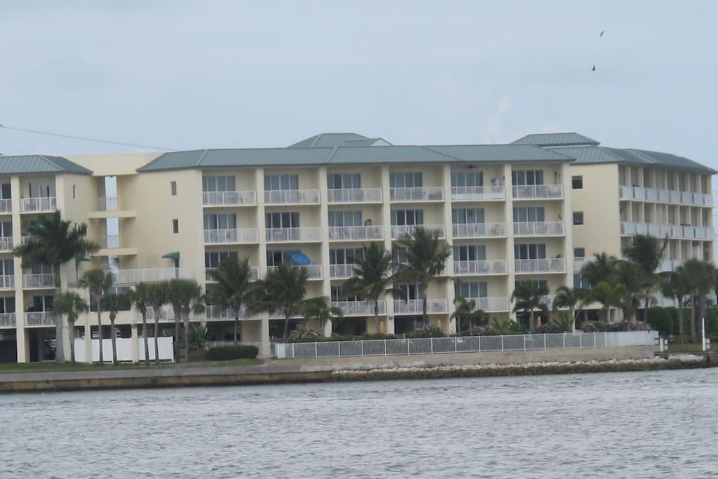 Boca Ciega view from the bay