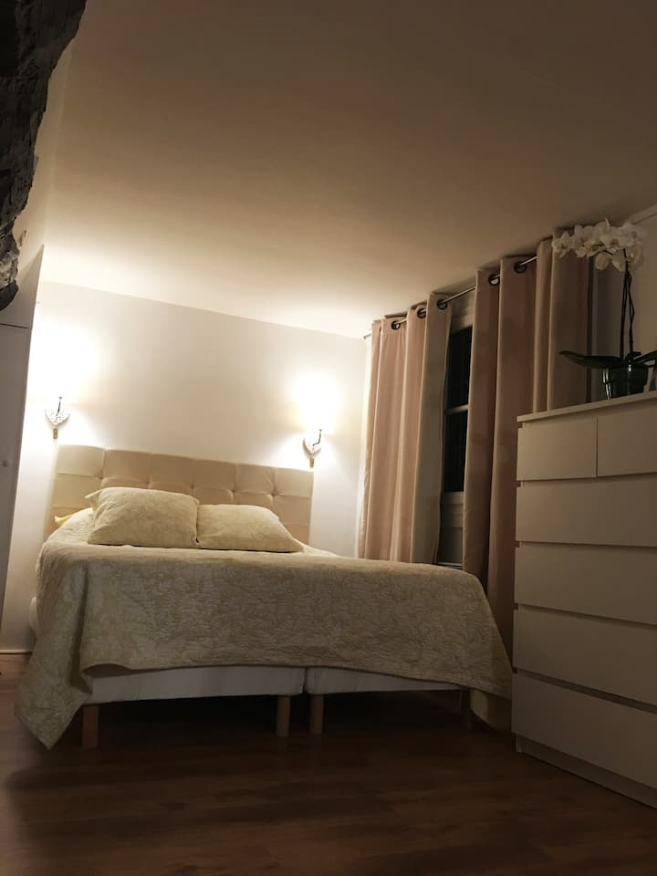 Romantic stay in L'ile Saint Louis!