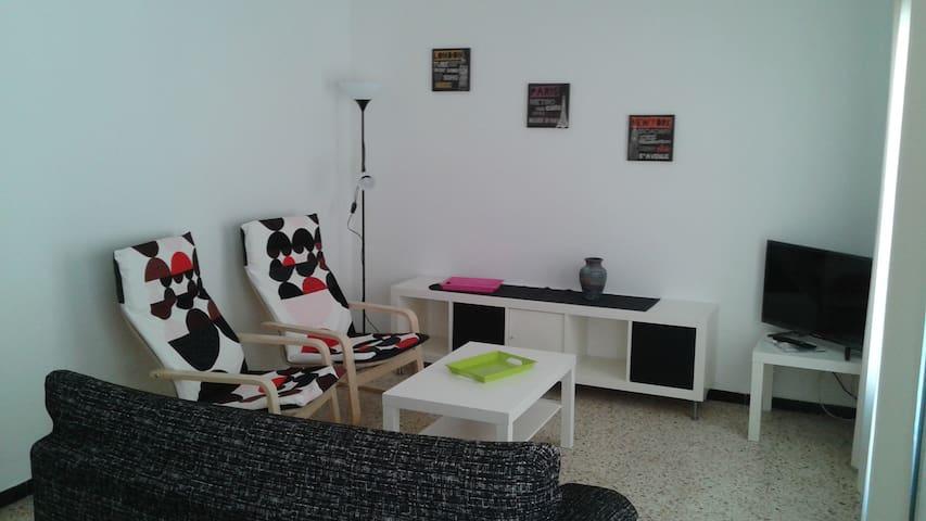 Apartamento centro de Roses a 2 min. de la playa - Roses