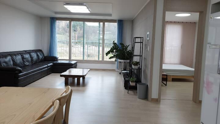 깨끗한침구,콘도급 퀄리티,후기좋은 미르安301Healing_Residence 광주수완10분