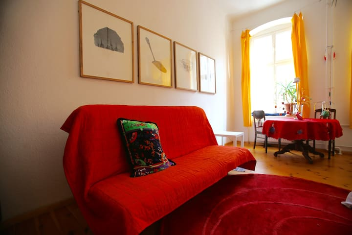High quality, large, quiet and central room - Berlin - Apartment