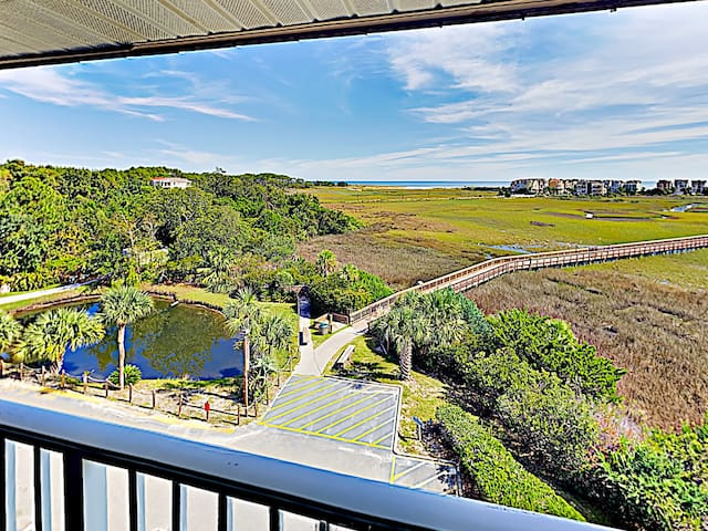 Take in the incredible ocean view from your private covered balcony.