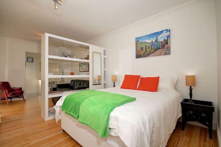 Tasteful bedroom