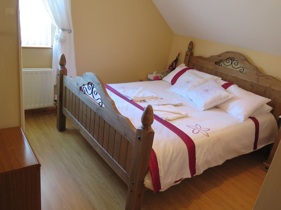 Double bed room ensuite