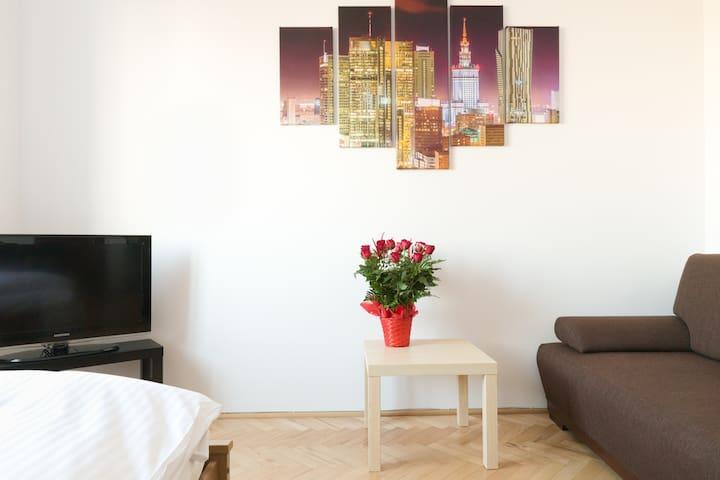 Apartment ONE Studio - Your Freedom - Warszawa - Apartment