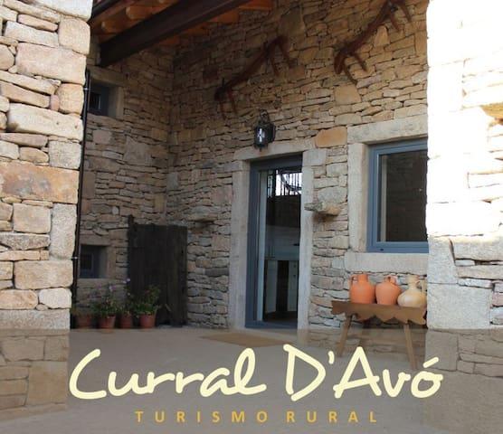 Curral D'Avó Turismo Rural - Caçarelhos - Гестхаус