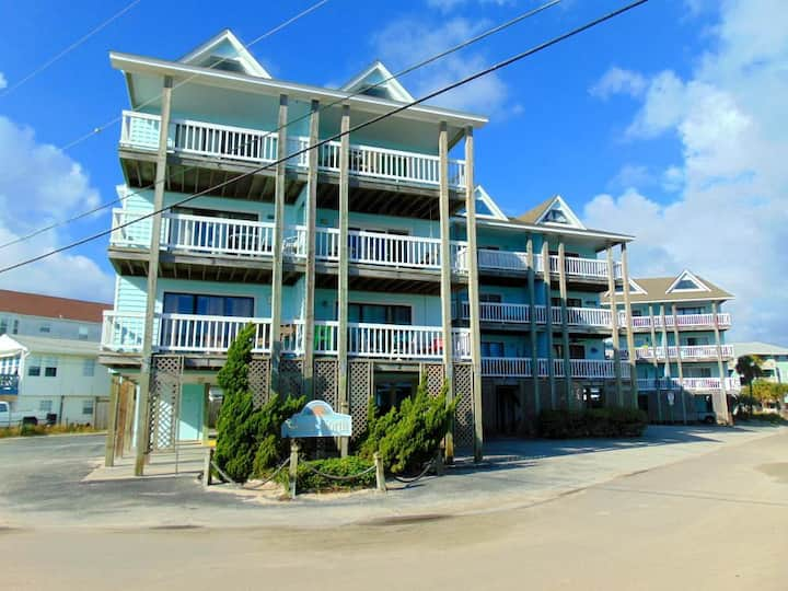 ISLAND NORTH # C-14 - Steps away from Carolina Beach Pier with Community Pool