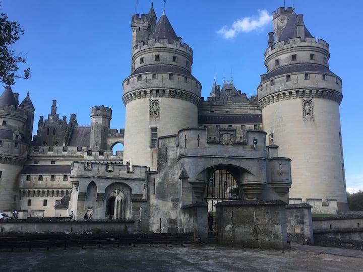 Chambre 1 proche du château de Pierrefonds