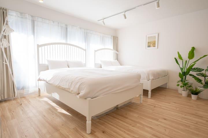 "Ueno 10 min JR Yamanote ""Komagome Cozy room"" 4F"