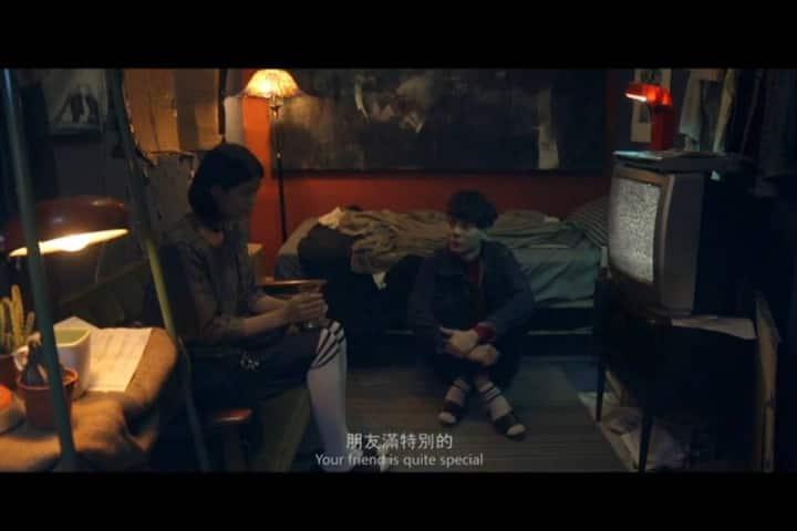 Old style movie scene room in Ximen 電影房 在西門
