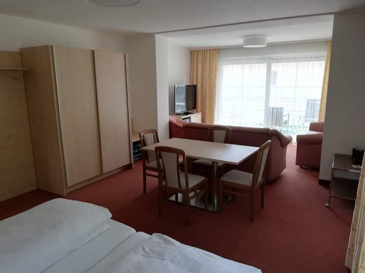 Wohnen mit Hotelanschluss