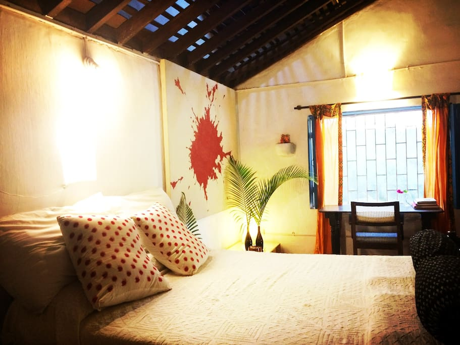 the cosy bedroom