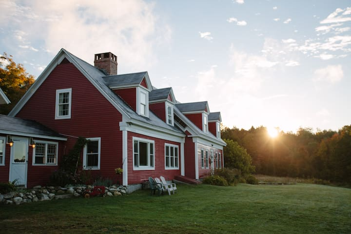 Farmhouse 6br/4b, Galusha Hill Farm - Topsham