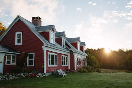 Farmhouse 6br/4b, Galusha Hill Farm - Topsham - Rumah