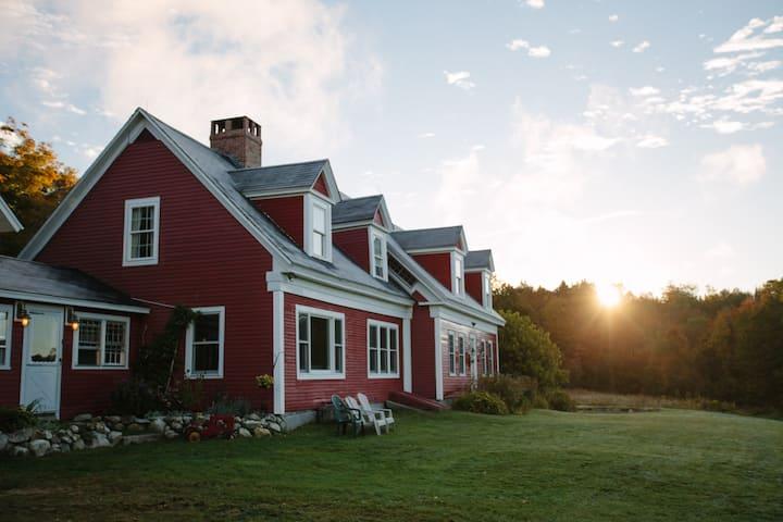 Farmhouse 6br/4b, Galusha Hill Farm